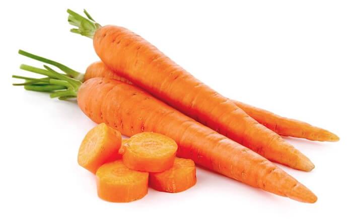 Producción de zanahorias en Valladolid
